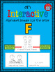 Alphabet Task Cards - Exercise Scoot! Letter F {Emergent Reader Included!}