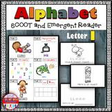 Alphabet Task Cards - Exercise Scoot! Letter I {Emergent Reader Included!}