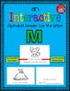 Alphabet Task Cards - Exercise Scoot! Letter M {Emergent Reader Included!}