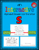 Alphabet Task Cards - Exercise Scoot! Letter S {Emergent R