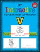 Alphabet Task Cards - Exercise Scoot! Letter V {Emergent Reader Included!}