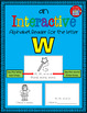 Alphabet Task Cards - Exercise Scoot! Letter W {Emergent Reader Included!}