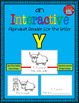 Alphabet Task Cards - Exercise Scoot! Letter Y {Emergent Reader Included!}