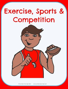 Exercise & Sports Theme - No-Prep Thematic Unit Plan