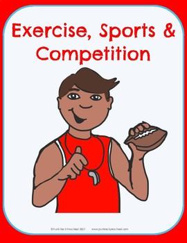 Exercise & Sports Theme - No-Prep Thematic Unit Plan