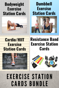 Exercise Station Cards Bundle