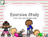 Exercise Study Anchor Charts & Investigation Webs