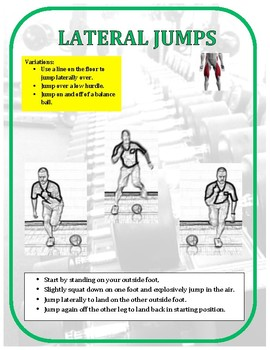 Exercise Task Cards: Lower Body Exercises