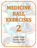 Exercise Task Cards: Medicine Ball 2