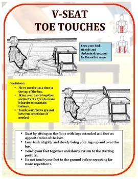 Exercise Task Cards: Plyometric Box 2