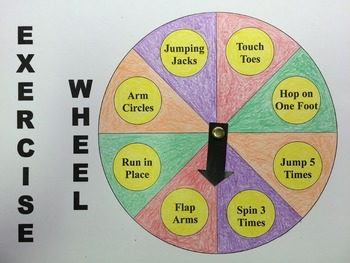 Exercise Wheel for Ages 3+