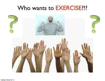 Exercise! With ASL Support