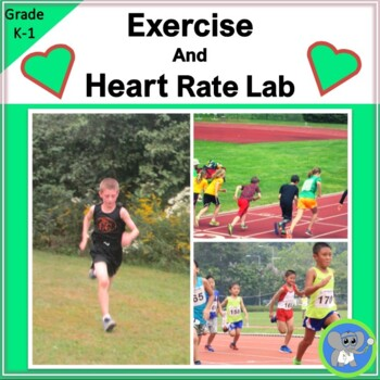 Heart Rate and Exercise Experiment for Kindergarten and 1st Grade