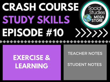 Exercise and Learning: Crash Course Study Skills  Ep 10