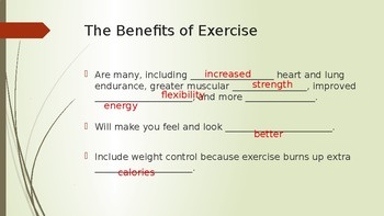 Exercise and Rest