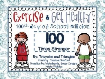 Exercises For the 100th Day of School