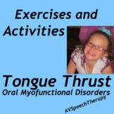Tongue Thrust Exercises & Activities