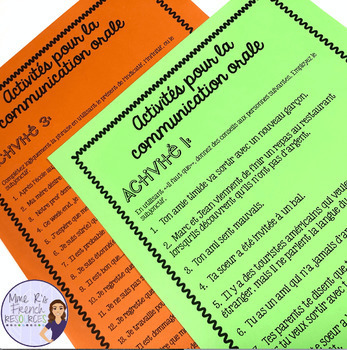 French subjunctive notes and exercises - le subjonctif