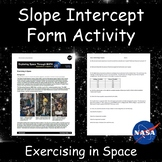 Modeling with Linear Functions: Exercising in Space