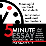 Exhausted by Essays? 5-Minute Essay Grading System - Reclaim Your Weekends!
