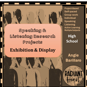 Speaking & Listening Research Project: Exhibition & Display VCAL RESOURCES