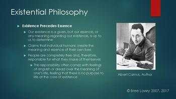 Existentialism Presentation