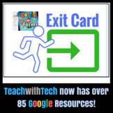 Exit Card Questions in Google Forms
