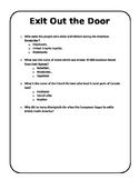 Exit Card - Social Studies