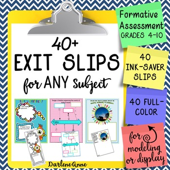 EXIT/ENTRANCE TICKETS FOR ALL SUBJECTS