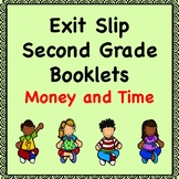 Math Exit Slips (Money and Time)