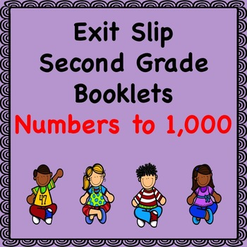 Math Exit Slips (Numbers to 1,000)