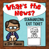 Exit Slip FREEBIE (write a summary of today's lesson!)