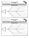 Exit Slip Fishbone Diagram Summary or Interactive Notebook output