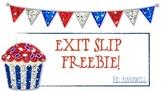 Exit Slip Freebie