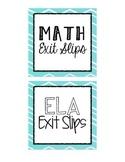 Exit Slip Labels