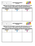 Exit Slip Quiz Question Summary or Interactive Notebook output