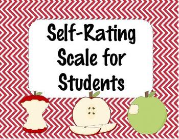 Exit Slip Self-Rating