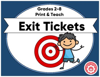 Exit Ticket: One Ticket For All Purposes