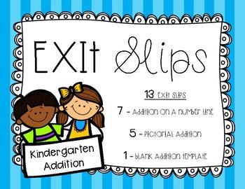 Exit Slips - Addition