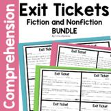 Bundled ELA Exit Tickets for Second Grade