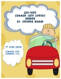 Exit Slips Common Core Literacy Reading 3rd Grade
