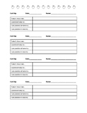 Exit Slip FREEBIE - Daily Focus and Reflection