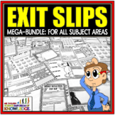 Exit Slips: End of Lesson Formative Assessments