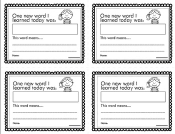 Exit Slips, Exit Tickets and Lesson Closures
