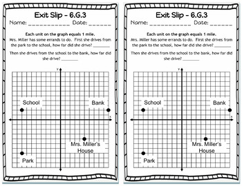 Exit Slips: Geometry Exit Slips, G, 6th Grade Math Exit Tickets - Geometry