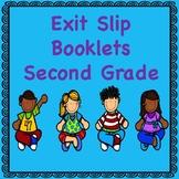 Second Grade Math Exit Slips