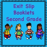Second Grade Math Exit Slips