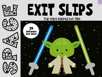 Exit Slips - Star Wars Inspired