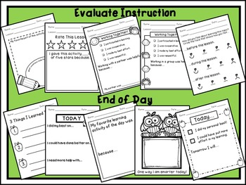 Exit Slips for Any Grade! {Four-eyes Freebie}