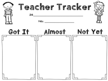 Exit Slips for Formative Assessments